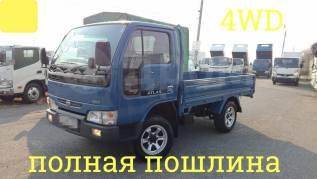 Nissan Atlas. 4WD, борт 1,5 тонны, 2 700куб. см., 1 500кг.