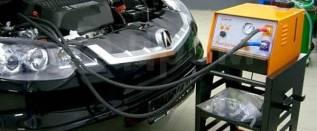 Промывка топливной системы на профессиональном оборуд и на стенде