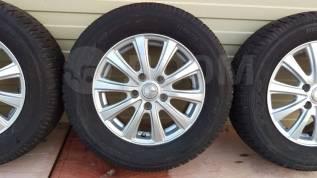 """Комплект Отличных колес из Японии Toyo Garit G4 205/65 R15. 6.0x15"""" 5x114.30 ET53 ЦО 73,0мм."""