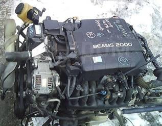 Двигатель в сборе. Toyota Mark II Wagon Blit Toyota Mark II Двигатель 1GFE