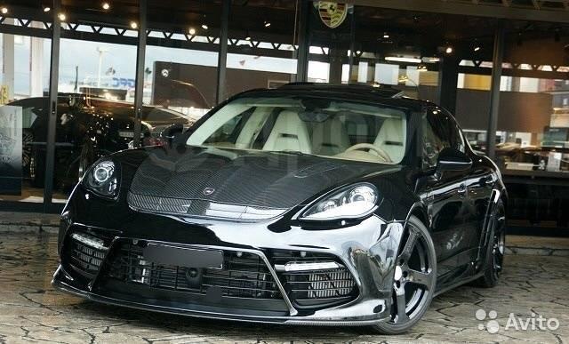 Обвес кузова аэродинамический. Porsche Panamera, 971