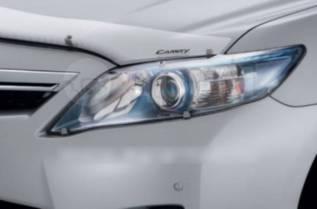 Накладка на фару. Toyota Camry, ACV40, ACV45, AHV40, ASV40, GSV40 Двигатели: 2ARFE, 2AZFE, 2AZFXE, 2GRFE