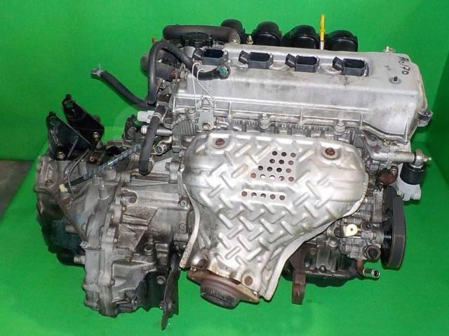 Двигатель в сборе. Toyota: Celica, Corolla Spacio, Caldina, Wish, WiLL VS, Allex, Avensis, Corolla Verso, Corolla Fielder, Isis, Corolla Runx Двигател...