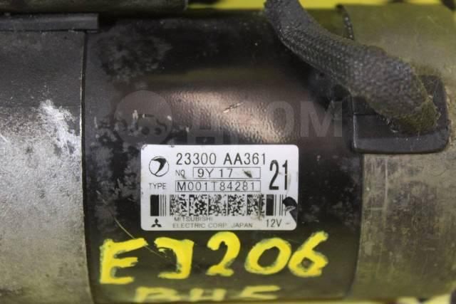 Стартер. Subaru Legacy, BD5, BE5, BG5, BH5, BHC, BHCB5AE Subaru Legacy B4, BE5 Двигатели: EJ206, EJ20H, EJ20, EJ202, EJ203, EJ204, EJ20X, EJ208