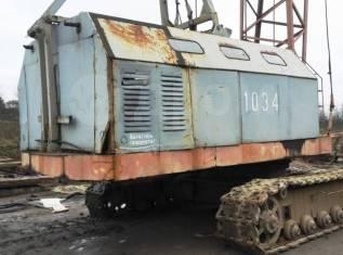 ЧКЗ МКГ-25. Гусеничный кран МКГ-25