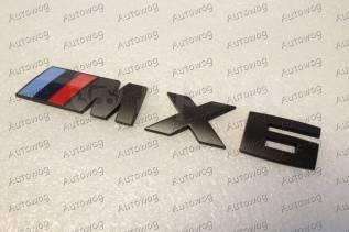 Эмблема. BMW X6