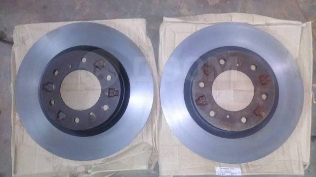 Диск тормозной. Mitsubishi Pajero, V97W, V98V, V98W Mitsubishi Montero, V97W, V98V, V98W Двигатели: 4M41, 6G75