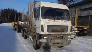 МАЗ 6312. Продам автомобиль сортиментовоз с 3-х осным прицепом, 12 000куб. см., 23 000кг.