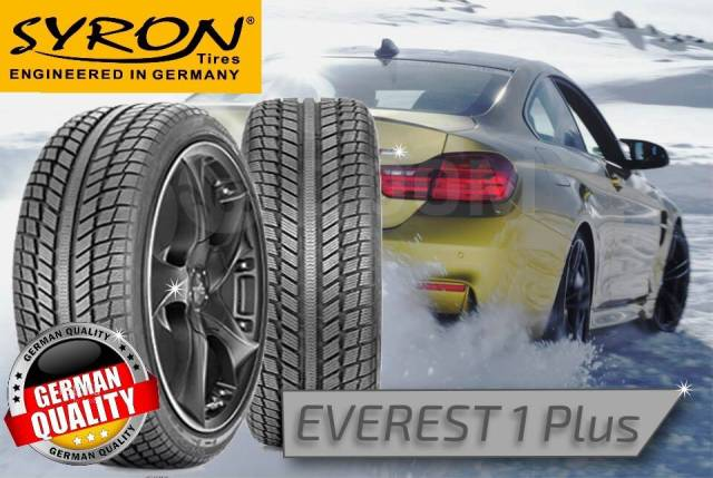 Syron Everest 1 Plus. Зимние, без шипов, без износа, 4 шт