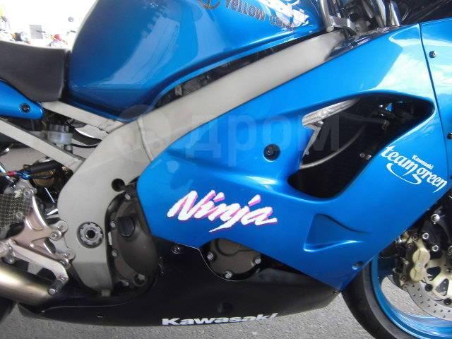 Kawasaki Ninja ZX-9R. 900куб. см., исправен, птс, без пробега