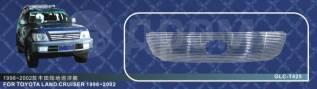 Молдинг решетки радиатора. Toyota Land Cruiser, FZJ100, HDJ100, HDJ100L, J100, UZJ100, UZJ100L, UZJ100W