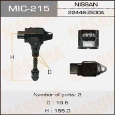 Катушка зажигания, трамблер. Infiniti: FX45, QX56, FX35, M45, M35 Nissan: Patrol, Pathfinder, Armada, Safari, Titan Двигатели: VK45DE, VK56DE, TB48DE