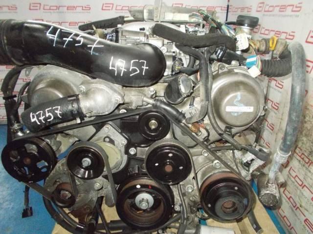 Двигатель в сборе. Toyota: Crown Majesta, Crown, Celsior, GT 86, Land Cruiser Prado, Soarer Двигатели: 3UZFE, VVTI