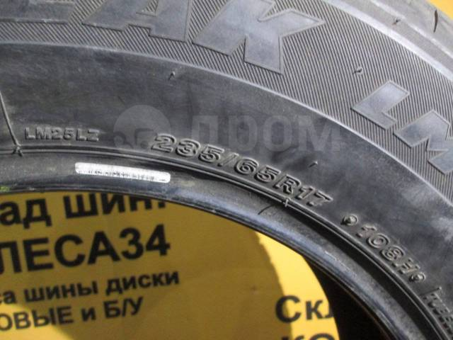 Bridgestone Blizzak LM-25 4x4. Зимние, без шипов, 10%, 4 шт