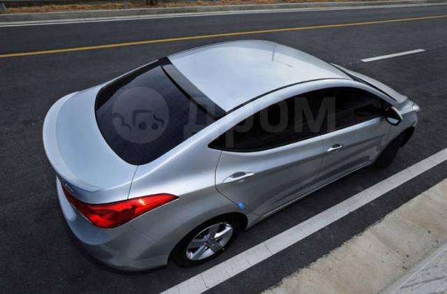 Спойлер. Hyundai Avante, MD Двигатели: G4FD, L4FA