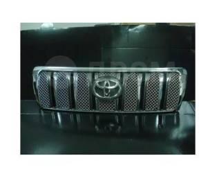 Молдинг решетки радиатора. Toyota Land Cruiser, HDJ100L, HDJ101K, HZJ105L, HZJ76L, J100, UZJ100L, UZJ100W Двигатели: 1HDFTE, 1HZ, 2UZFE