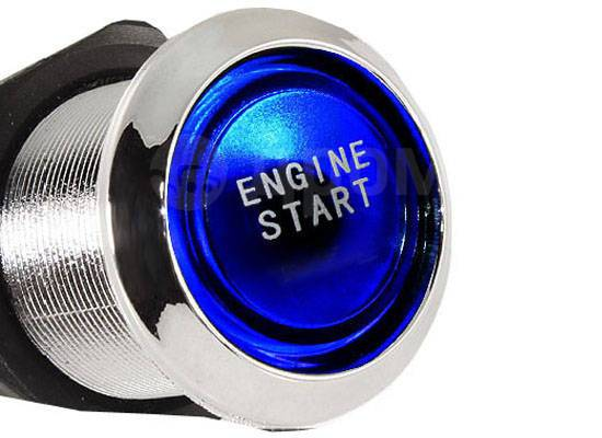 Кнопка запуска двигателя. Лада: 2110, Гранта, Калина, 2115, 2104, 2105, 2106, 2107, 2111, 2112, 2101, 2113, 2102, 2114, 2103, Приора, 2108, 2109 Rover...