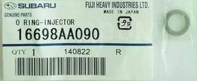 Кольца форсунок. Subaru Forester, SF5, SG5 Subaru Legacy, BE5, BH5 Subaru Impreza, GC1, GC2, GD2, GD3, GF1, GF2, GF5, GF6, GG2, GG3 Двигатели: EJ201...