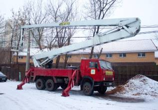 КамАЗ АГП-28. Автовышка 28 метров (агп - 28), 5 000куб. см., 28м.
