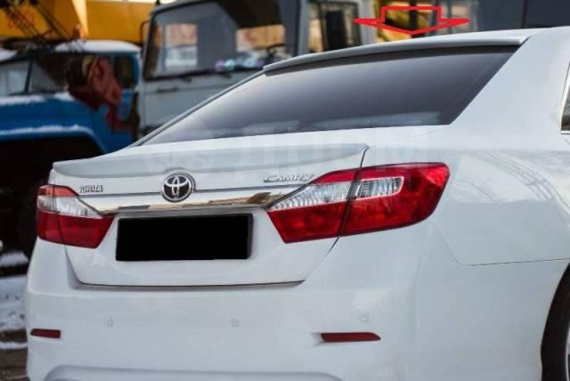 Спойлер на заднее стекло. Toyota Camry, ACV51, ASV50, AVV50, GSV50 Двигатели: 2ARFE, 2ARFXE, 2GRFE, 1AZFE