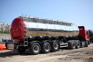 Foxtank ППЦ-35. Пищевые полуприцепы объем 35м3, 36 000кг.