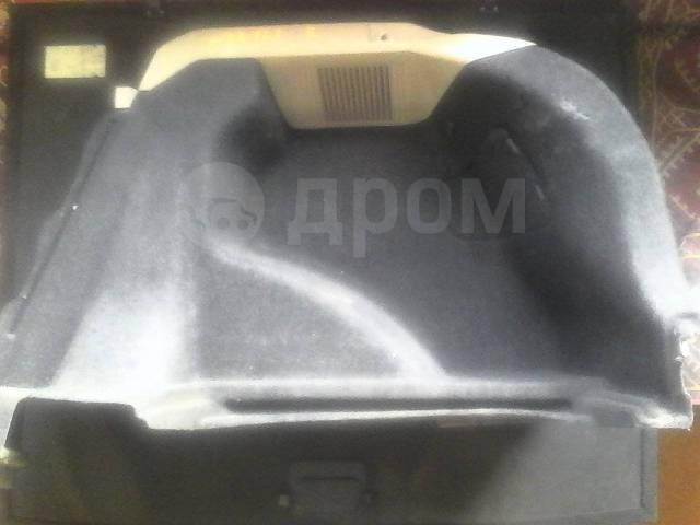 Обшивка багажника. Toyota Allex, NZE121 Двигатель 1NZFE