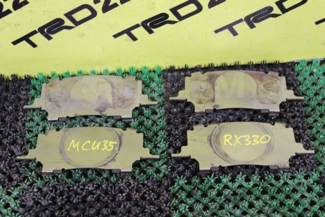 Пластина суппорта. Lexus RX330, GSU30, GSU35, MCU33, MCU35, MCU38 Lexus RX350, GSU30, GSU35, MCU33, MCU35, MCU38 Lexus RX300, GSU35, MCU35, MCU38 Lexu...