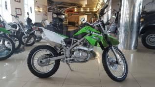Kawasaki KLX 125. 125куб. см., исправен, птс, без пробега