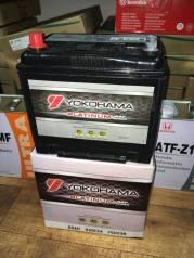 Yokohama Batteries. 65А.ч., Прямая (правое), производство Япония
