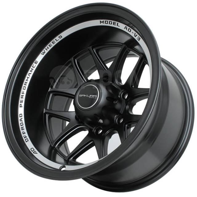 """Sakura Wheels. 10.0x16"""", 6x139.70, ET-44, ЦО 110,5мм."""