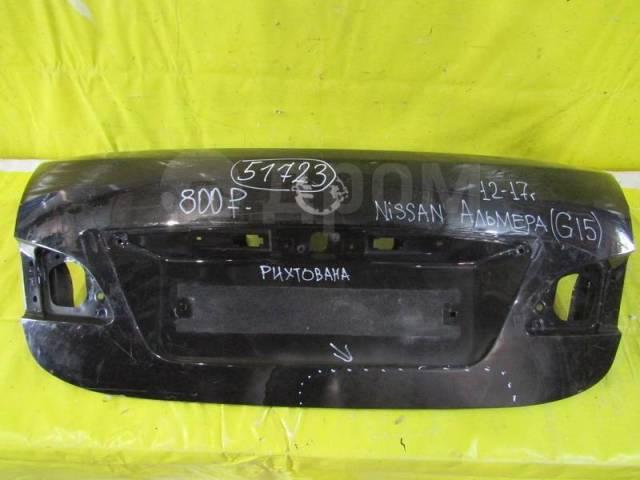 доп оборудование на капот багажника nissan almera