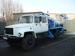 Випо-24. Автогидроподъемник ВИПО-24-01 на шасси ГАЗ-33086, 1 000куб. см., 24,00м.