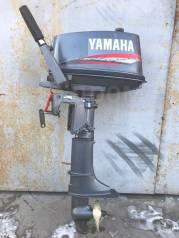 Yamaha. 5,00л.с., 2-тактный, бензиновый, нога S (381 мм), 2003 год год