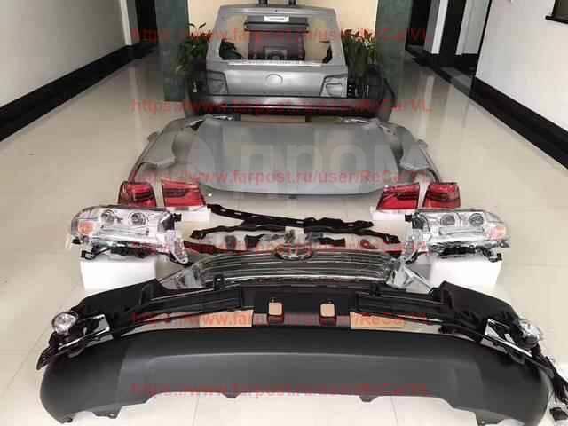 Кузовной комплект. Toyota Land Cruiser, GRJ200, J200, URJ200, URJ202W, UZJ200, UZJ200W, VDJ200 Двигатели: 1GRFE, 1URFE, 1VDFTV, 2UZFE, 3URFE