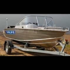 Wyatboat. 2018 год год, длина 4,60м., двигатель без двигателя, 50,00л.с., бензин. Под заказ