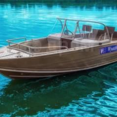 Wyatboat WB-460DCM. 2018 год год, длина 4,60м., двигатель без двигателя, 50,00л.с., бензин. Под заказ