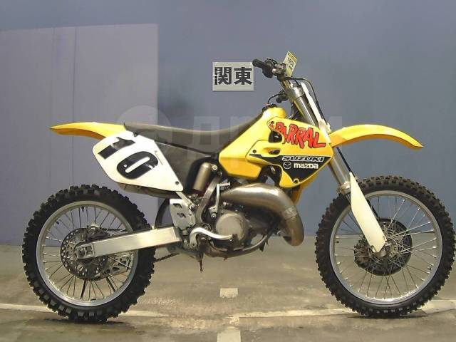 Suzuki RM 125. 125куб. см., исправен, птс, без пробега