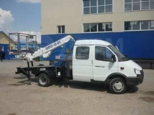 ГАЗ 330232. Автогидроподъемник ВИПО1201 на шасси ГАЗ-330232-1744 2-х рядная кабина, 10м.