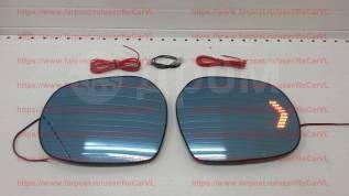 Стекло зеркала заднего вида бокового. Toyota Land Cruiser, URJ202, URJ202W, UZJ200, UZJ200W, VDJ200. Под заказ
