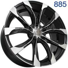 """Sakura Wheels. 10.0x22"""", 5x120.00, ET45, ЦО 74,1мм."""