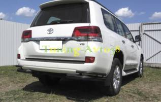 Кенгурятники. Toyota Land Cruiser, J200