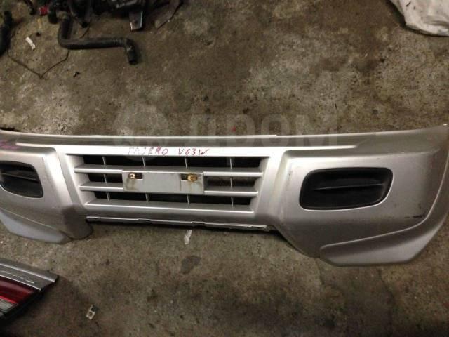Бампер. Mitsubishi Pajero, V63W, V65W, V68W, V60 Mitsubishi Montero, V60, V63W, V65W, V68W Двигатели: 4M41, 6G72, 6G74, 6G75