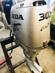 Honda. 30,00л.с., 4-тактный, бензиновый, нога S (381 мм), 2000 год год