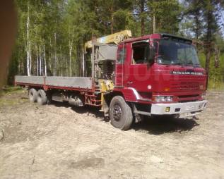 Nissan Diesel. Продаю грузовик , 9 000кг., 6x4