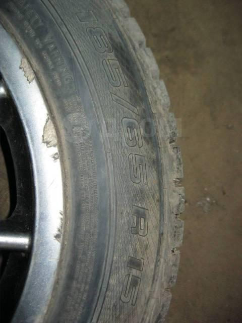 """Пара колёс StilAuto с зимней шипованой резиной 185/65/15 5*100. x15"""" 5x100.00"""