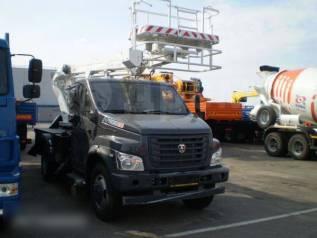 Випо-24. Автогидроподъемник ВИПО-24-01 на шасси ГАЗ-С41R13 NEXT (4х2), 1 000куб. см., 24,00м.