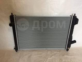 Радиатор охлаждения двигателя. Chevrolet Aveo, T200, T250 Двигатели: F12S3, F15S3, F14S3, LMU, B12S1, F14D3, L95, F14D4, LY4, F16D3, L91, B12D1