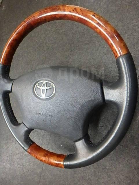Руль. Toyota: Avalon, Land Cruiser, Aristo, Celsior, Camry Gracia, Avensis, Hilux Surf, Camry, Land Cruiser Prado, Brevis, Alphard, Avensis Verso, Cha...