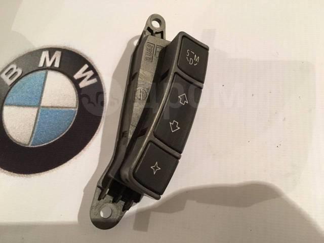 Переключатель на рулевом колесе. BMW 7-Series, E65, E66, E67 Alpina B Alpina B7 Двигатели: M52B28TU, M54B30, M57D30T, M57D30TU2, M62TUB35, M62TUB44, M...