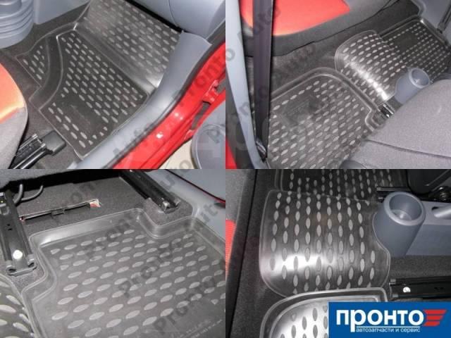 Полиуретановые коврики в салон автомобиля